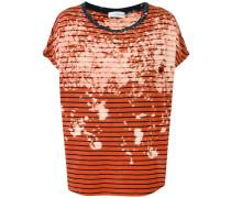 Gestreiftes T-Shirt - unisex - Baumwolle - L