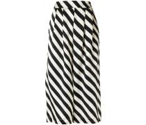 striped culottes - women - Seide - P