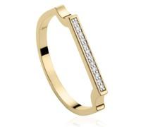 'GP Signature' Ring mit Diamanten