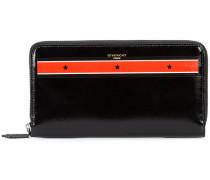 - star print zip wallet - men