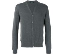 Cardigan mit V-Ausschnitt - men - Baumwolle - 50