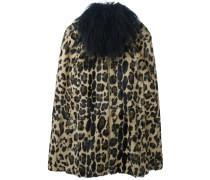 Mantel mit Leopard-Print - women