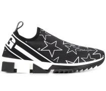 'Sorrento' Sneakers mit Stern-Print