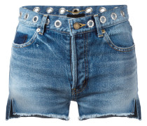 Ungesäumte Jeansshorts