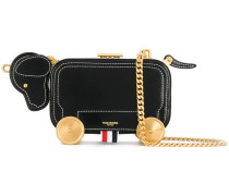 Hector Bag With Chain Shoulder Strap In Calf Leather