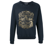 Sweatshirt mit Metallic-Print - men - Baumwolle