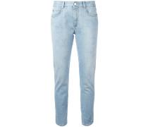 Boyfriend-Jeans mit Sternen