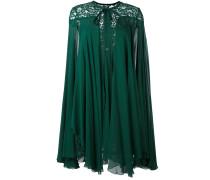 Cape-Kleid mit Spitze