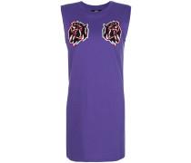 Kleid mit Löwen-Patches