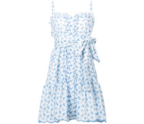 cornflower eyelet ruffle dress