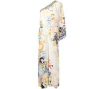 one-shoulder paisley-print jumpsuit