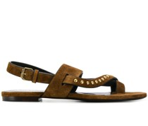 'Gia' Sandalen mit Nieten