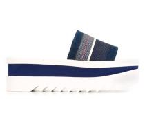 Flatforms mit Jeanseinsätzen