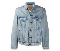 Jeansjacke mit Stone-Wash-Effekt
