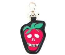 Schlüsselanhänger mit Erdbeer-Design