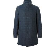 Tweed-Daunenjacke