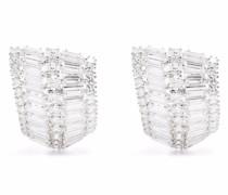 Hyperbola crystal earrings