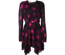 Kleid mit Sternen-Print