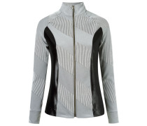 - panelled jacquard jacket - women