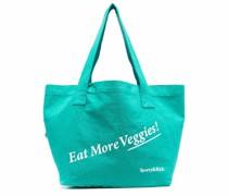 Handtasche mit Slogandesign