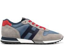 H383 Sneakers mit Einsätzen