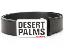 Desert Palms buckle belt