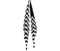 'Orio' Schal mit Querstreifen - women
