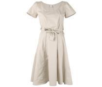 Kleid mit Gürtel - women - Baumwolle - 38