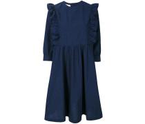 'Maiko' Kleid mit gerüschten Akzenten