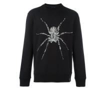 Sweatshirt mit Spinnenmotiv