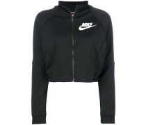 cropped track top