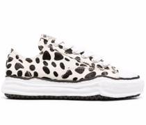 Sneakers mit Dalmatiner-Print