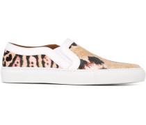 Sneakers mit Leoparden-Print