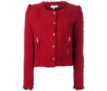 'Agnette' Tweed-Jacke - women - Baumwolle - 40