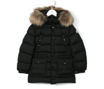 padded button-up coat