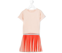 Kleid mit plissiertem Saum - kids