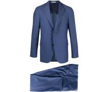 'B-Line' Anzug mit Fischgrätmuster