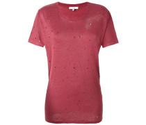 Klassisches T-Shirt - women - Leinen/Flachs - M