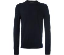 Pullover mit Rosenstickerei