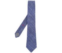 Krawatte mit Schraffurmuster