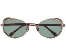 Ovale 'Steampunk' Sonnenbrille