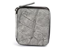 mini zipped wallet - women - Krokodilleder