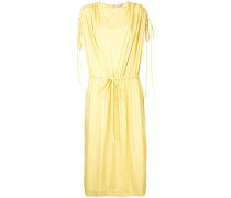 Drapiertes Kleid mit Kordelzug