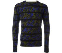 Pullover mit Querstreifen - men - Wolle - L