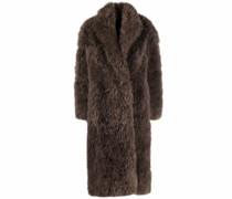 Flauschiger Mantel