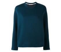 Neopren-Sweatshirt mit Rundhalsausschnitt