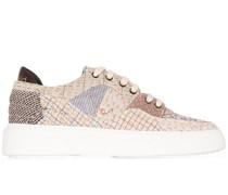 Sneakers im Patchwork-Look