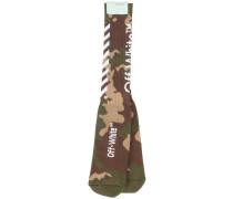 Socken mit Camouflage-Muster