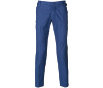 cropped style trousers