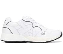 Sneakers mit verschlungenem Design